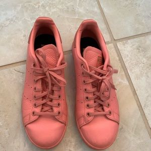 UNIQUE hot pink Stan Smith by Adidas